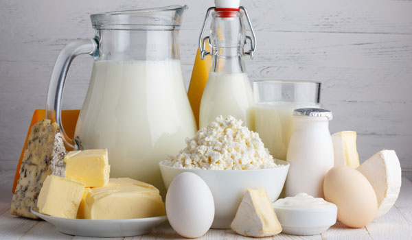 Dairy Products - Home Remedies for Sunburn