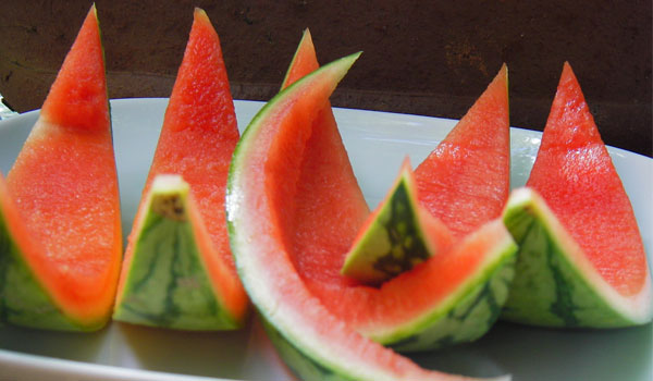 Watermelon Peel - Home Remedies for Sunburn