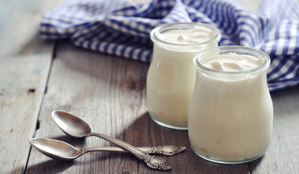 Yogurt - Home Remedies for Dry Skin