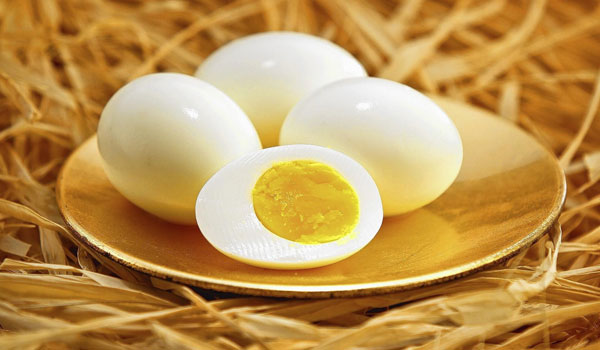 Hard Boiled Egg - How to Get Rid of Crow's Egg