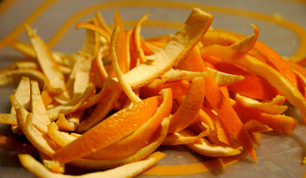 Orange Peel - Home Remedies for White Teeth