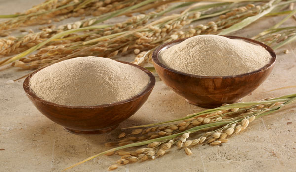 Rice Bran - How to Heal Cracked Heels