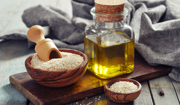 Sesame Oil - Home Remedies for Dry Hair