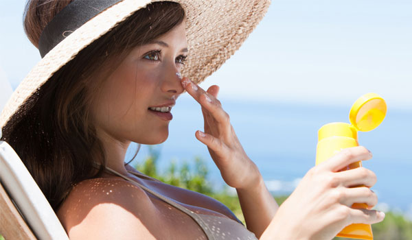Sunscreen - How to Get Rid of Crow's Feet