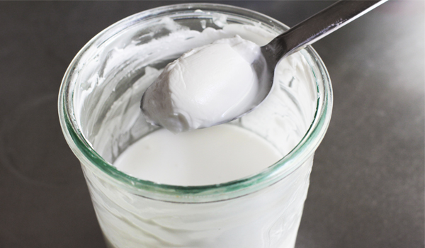 Yogurt - Home Remedies for Acne Scars