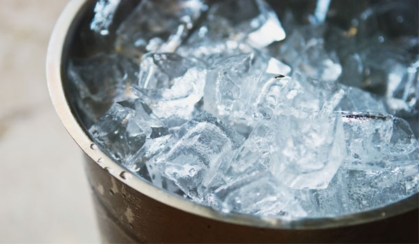 Ice - Home Remedies for Sprained Ankle