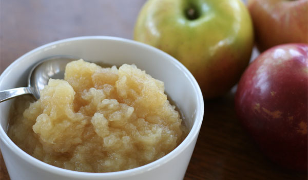 Applesauce - Home Remedies for Stomach Flu