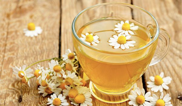 Chamomile tea - Home Remedies for Stomach Flu