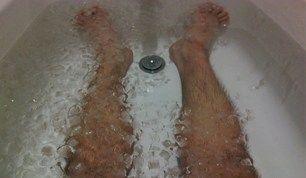 Cold Bath - Home Remedies for Palpitations