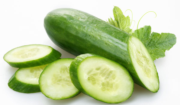 Cucumber - Home Remedies for Sunburn