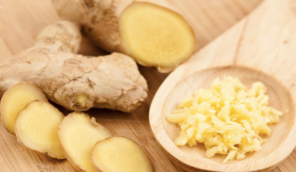 Ginger - Home Remedies for Chickenpox