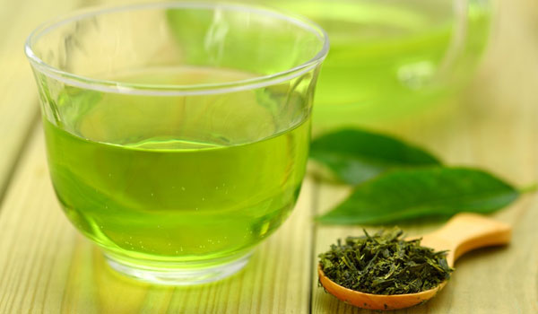 Green Tea 1 - How to Get Rid of Double Chin