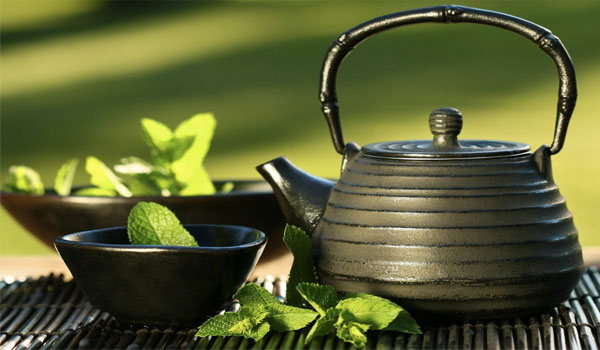 Green tea - How to Reduce Breast Size Naturally