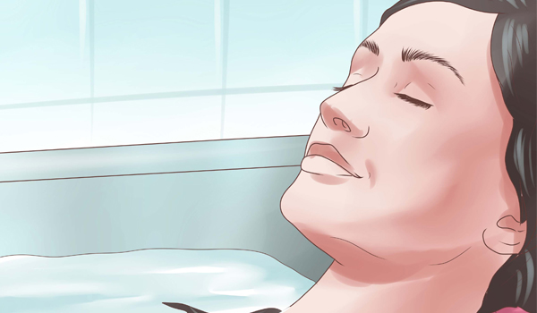Lukewarm Bath - How To Treat Poison Ivy