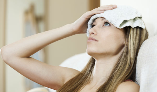 Hot compress - Home Remedies for Sinus Infection