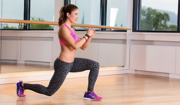 Lunges - How to Tone Your Hips and Thighs