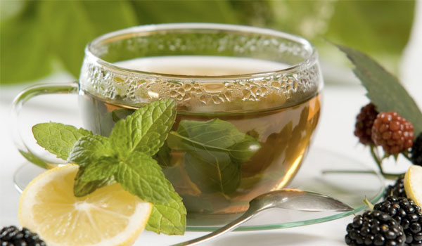 Peppermint tea - Home Remedies for Sinus Infection