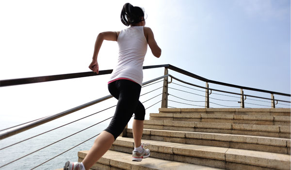 Stair climbing - How to Tone Your Hips and Thighs