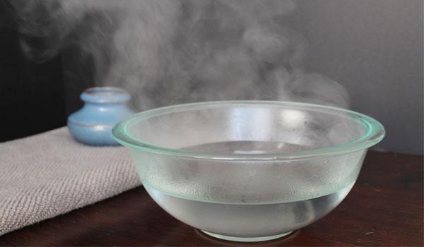 Steam - Home Remedies for Allergic Rhinitis