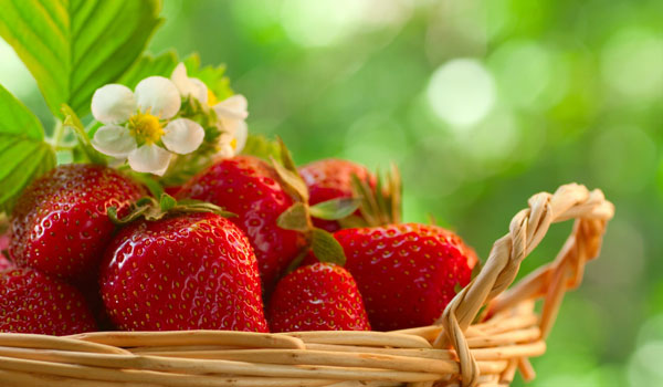 Strawberry - Home Remedies for Gastritis