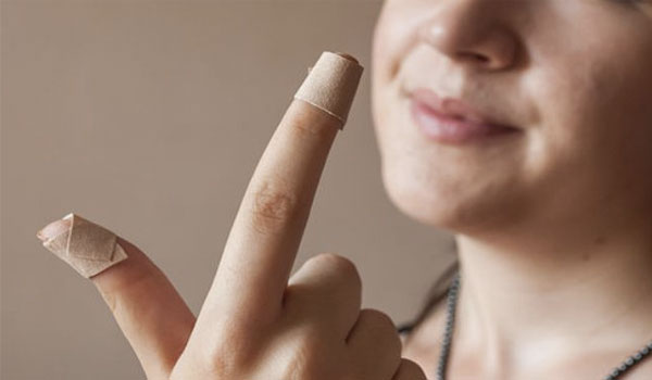Adhesive bandages - How to Stop Nail Biting