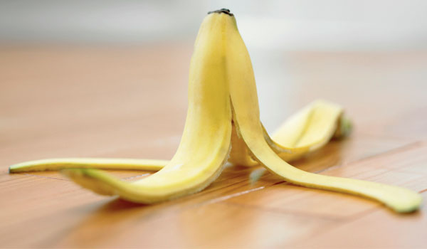 Banana peels - How to Get Rid of Hickeys