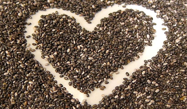 Chia is good for your heart - 7 Health Benefits of Chia Seeds