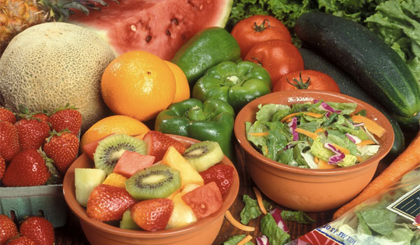 Fresh fruits and vegetables - How to Treat A Ganglion Cyst