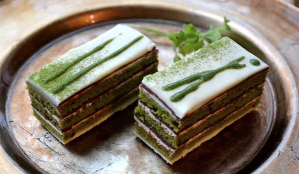 Green tea cake - Green tea health benefits