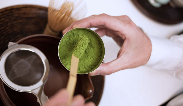 Homemade matcha - Green tea health benefits