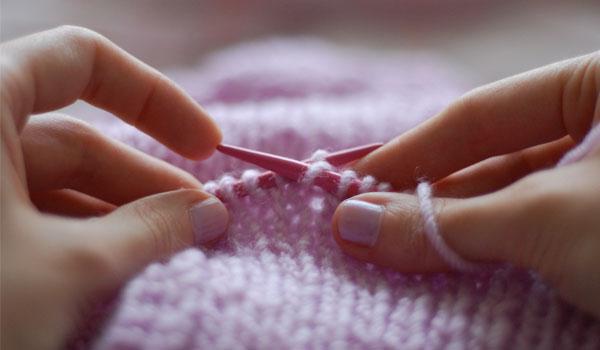 Knitting - How to Stop Nail Biting