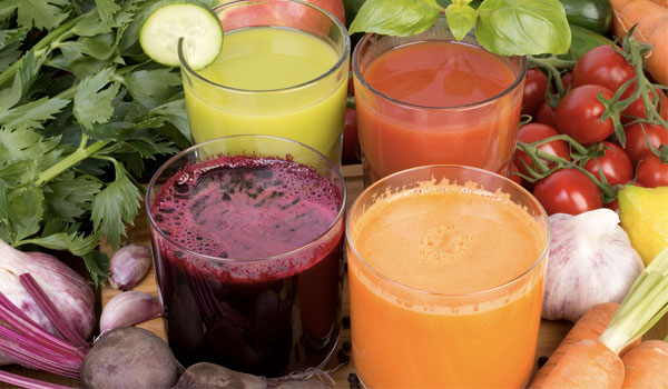 Vegetable juices - How to Treat Gangrene