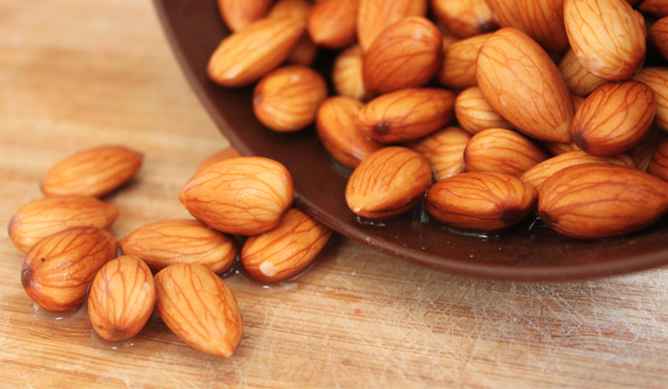 Almond - Home Remedies for Heart Burn
