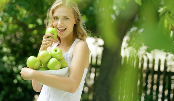 Apples improve respiratory system - Great Health Benefits of Apples