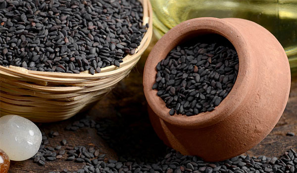Black Sesame - Home Remedies for Shoulder Pain