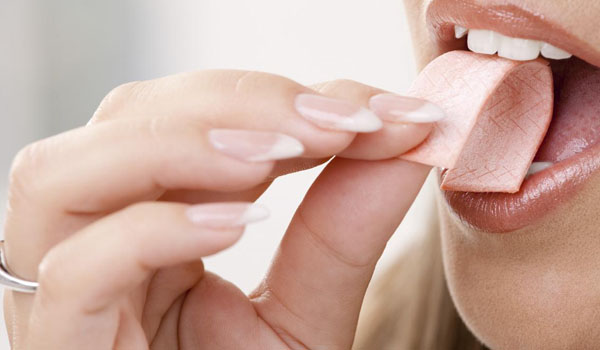Chewing Gum - How To Get Rid Of Saliva