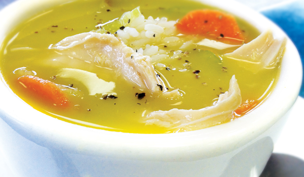 Chicken Soup - How To Stop Being Sick