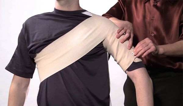 Compression - Home Remedies for Shoulder Pain