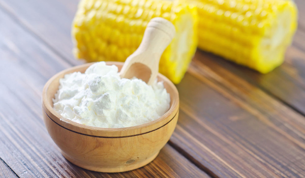 Cornstarch - Home Remedies for Chafing