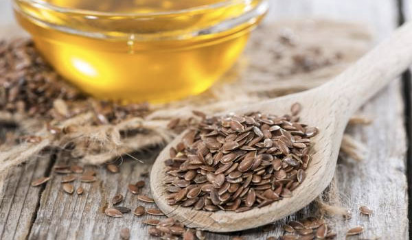 Flaxseed Oil - Home Remedies for Breast Pain