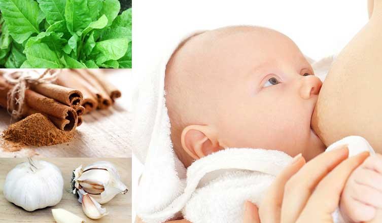 Home remedies for increasing breast milk