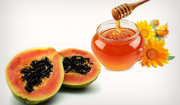 Honey and Papaya - Home Remedies for Sun Tanned Skin