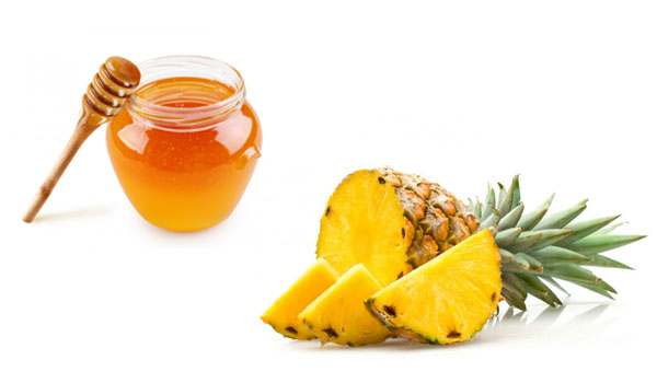 Honey and Pineapple - Home Remedies for Sun Tanned Skin