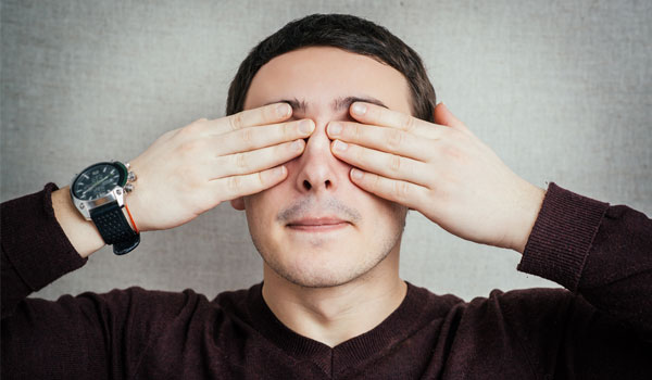 Palming - Home Remedies to Improve Eyesight