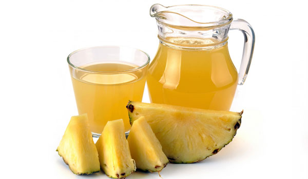 Pineapple Juice - Home Remedies for Warts