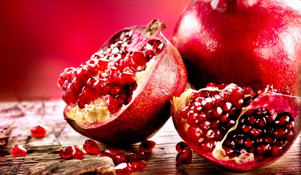 Pomegranate - Home Remedies for Typhoid Fever