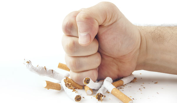 Quit smoking - Home Remedies for High Blood Pressure