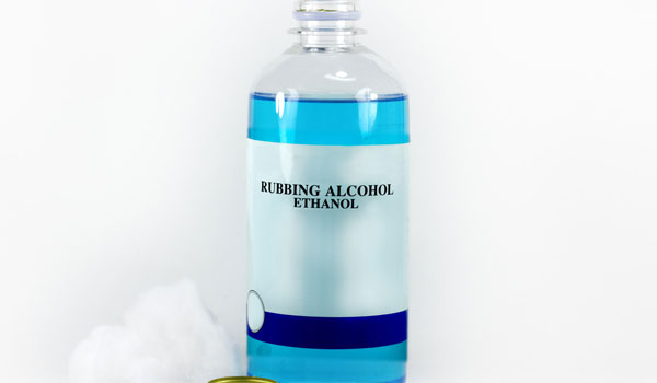 Rubbing Alcohol - Home Remedies for Belly Button Infection