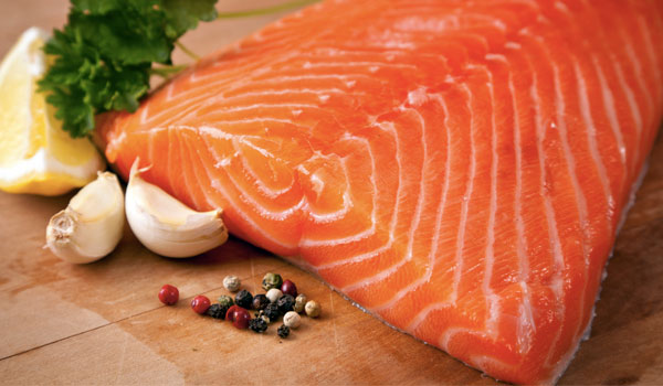Salmon boosts metabolism - Health Benefits of Salmon