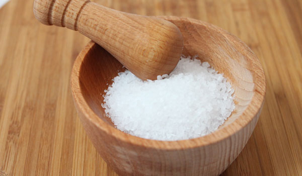 Salt - Home Remedies for White-Coated Tongue
